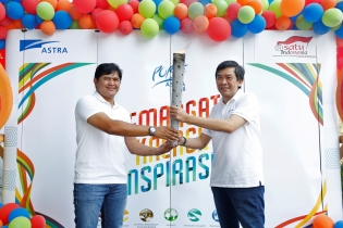 Kemeriahan Torch Relay Porse Astra  2019 di Kontingen Astra Financial Services